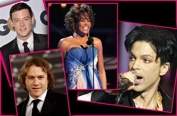 celebrities dead fatal drug overdose