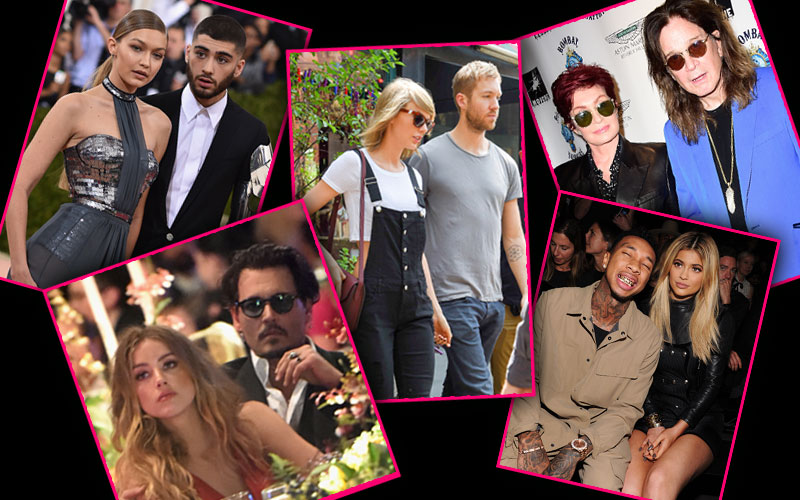 celebrity breakups 2016 taylor swift calvin harris