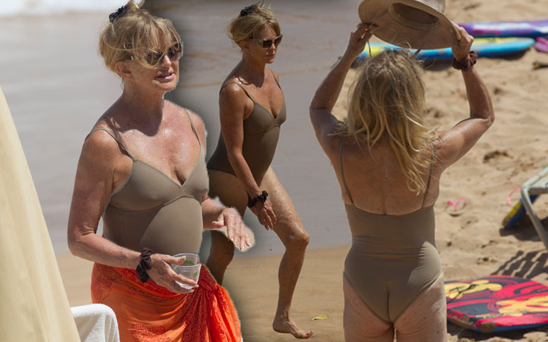 goldie hawn engaged swimsuit pics