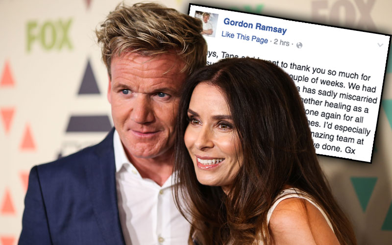 gordon ramsay wife miscarriage son tana ramsay