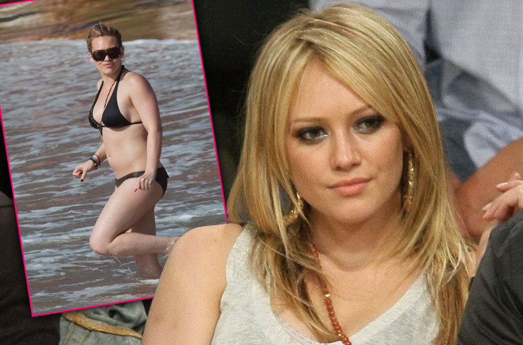 hillary duff bikini body today show