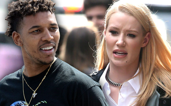 Iggy Azalea Nick Young Cheated Home Security Footage Breakup Pics 1