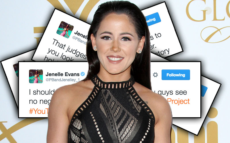 jenelle evans teen mom twitter rant leaving show bad editing
