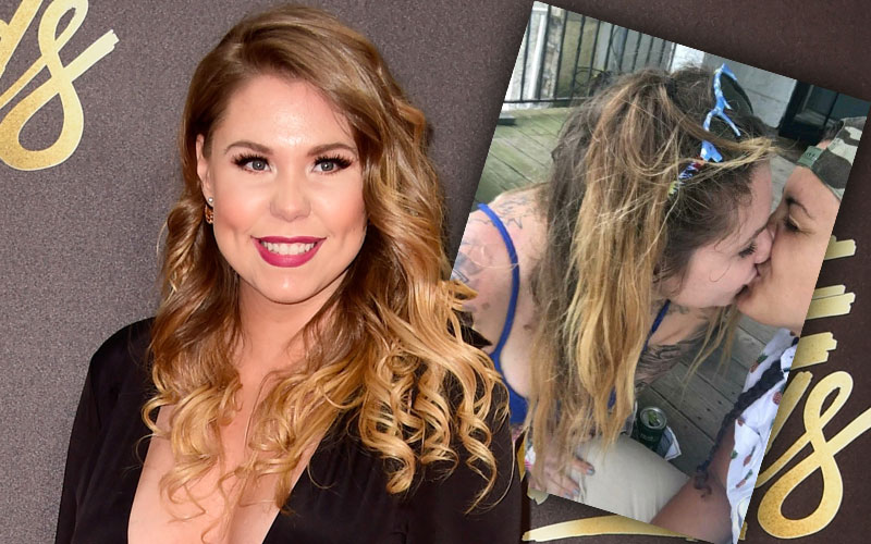 kailyn lowry kiss woman snapchat pic