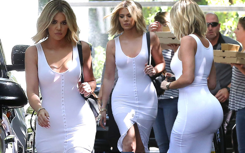 khloe kardashian skin tight dress kim kardashian weight gain