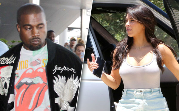 Kim Kardashian Weight Loss Kanye West Jealous Fatten Pics 2