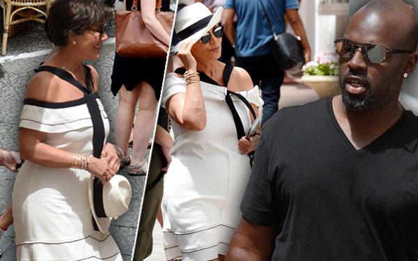 Kris Jenner Weight Gain Corey Gamble Flirting Italy Pics 7