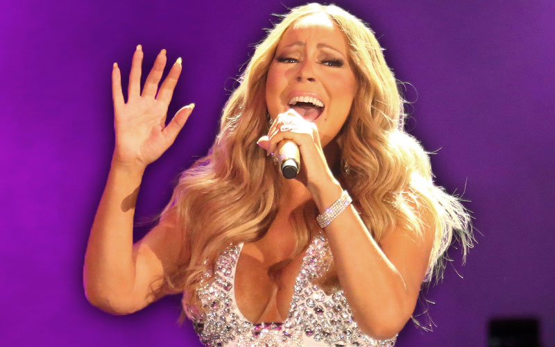 mariah carey naked twins bathtub jimmy kimmel