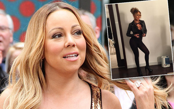 Skinny Fakery! Photoshop Expert Busts Mariah Carey Over ...