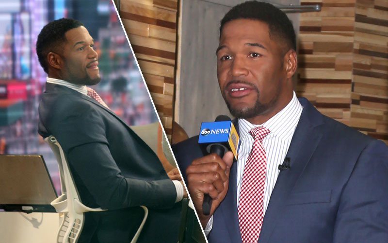 michael strahan gma host gig changes live with kelly and michael