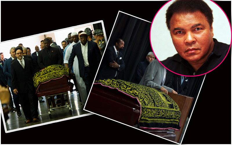 muhammad ali memorial service pics