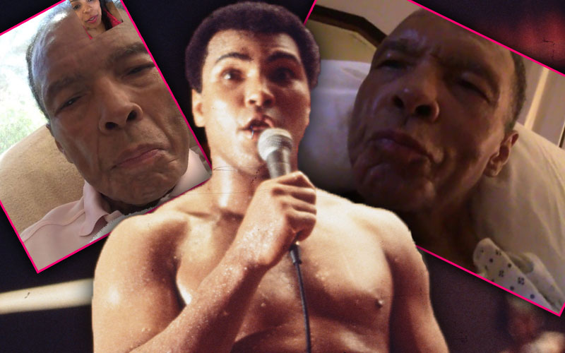 muhammad ali tragic last moments pics