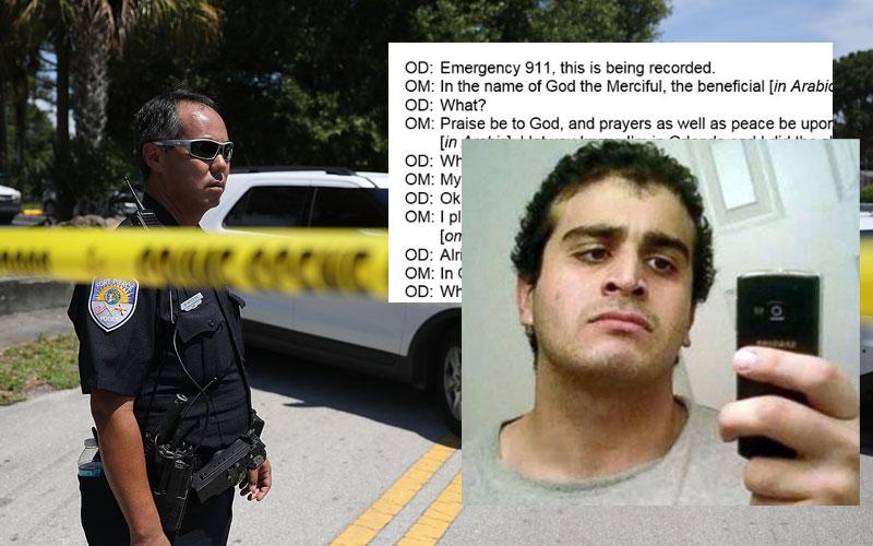 Orlando nightclub massacre omar mateen 911 call transcripts released 01