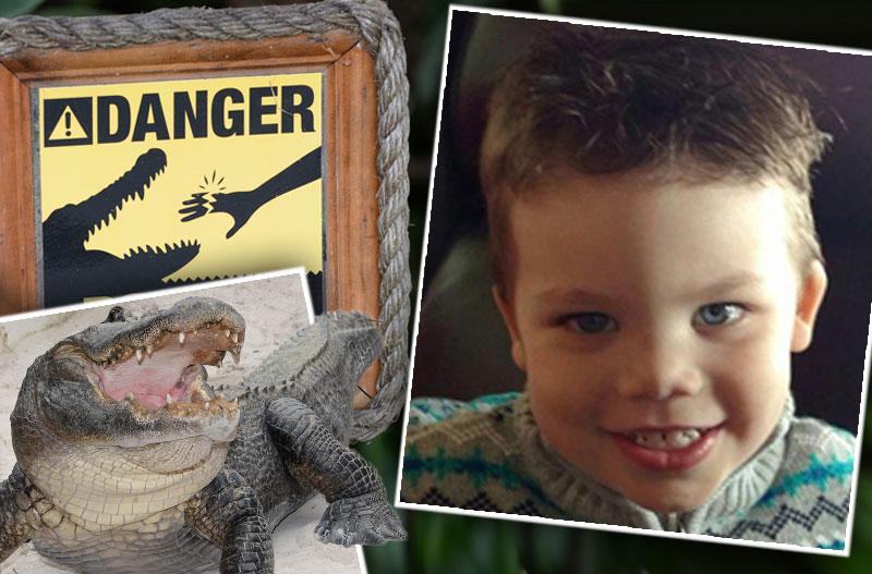 orlando toddler disney world alligator funeral