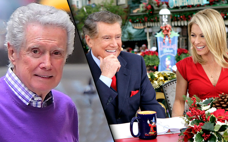 regis philbin live with kelly return work kelly ripa