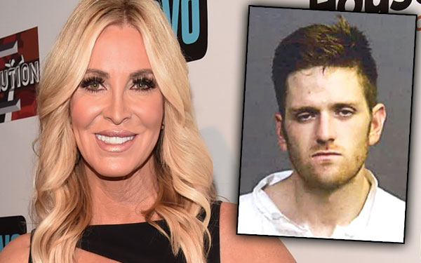 RHOC Lauri Peterson Son Arrested Suspect Attempted Murder Mugshot Pics 2
