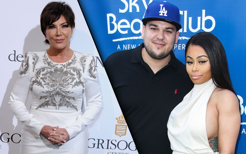 rob kardashian engaged blac chyna kris jenner shocked kuwtk video clip