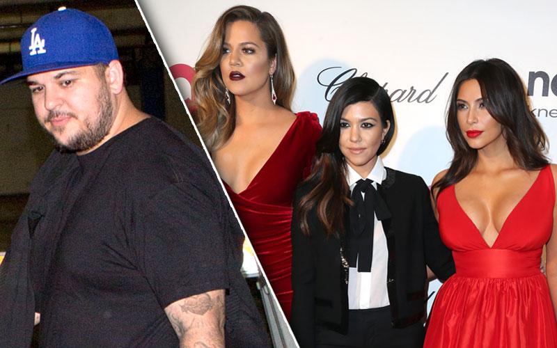 rob kardashian engagement blac chyna feud kourtney kardashian kim kardashian khloe kardashian kuwtk clip