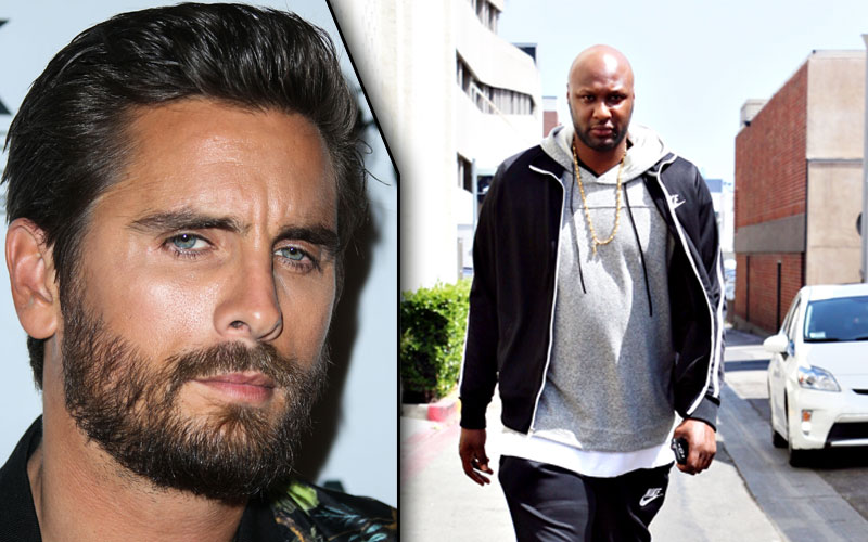 scott disick lamar odom overdose partying hospital rehab kuwtk video