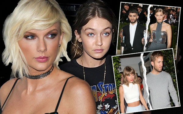 Taylor Swift Calvin Harris Breakup Squad Gigi Hadid Zayn Malik Plan 5