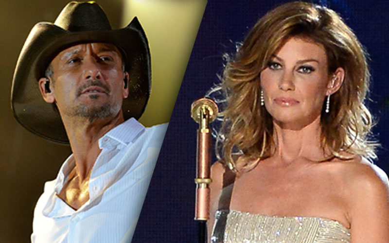 Separate lives tim mcgraw faith hill reveal another for How old are faith hill s daughters