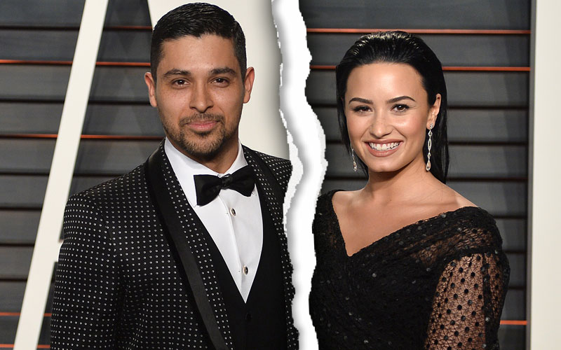wilmer valderrama demi lovato break up split instagram pic