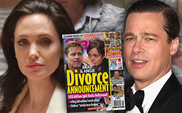 Brad Pitt Angelina Jolie Divorce Announcement Rumors Net Worth Kids Pics 2