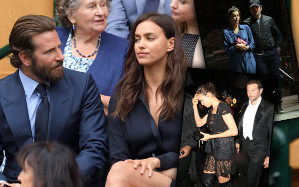 Bradley Cooper Girlfriend Irina Shayk Fighting Relationship Problems Wimbledon Pics 7