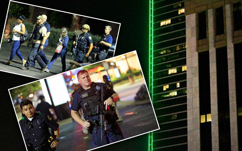 dallas police shooting five dead