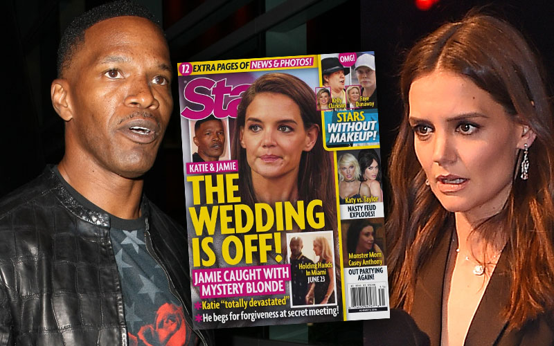 Katie Holmes Jamie Foxx Wedding Off Cheating Scandal Pics 35