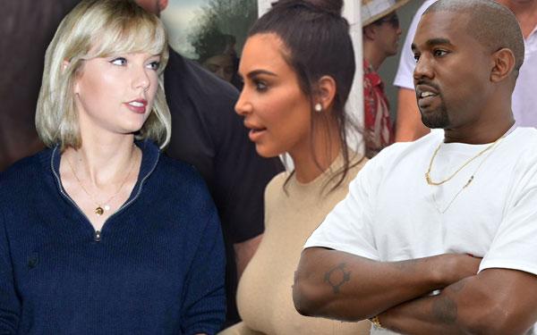 Kim Kardashian Leaks Taylor Swift Video Kanye West Famous Conversation 1
