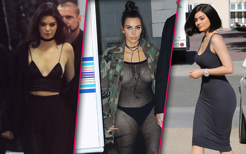 Kim kardashian nude latex bra underwear fishnet dress 04