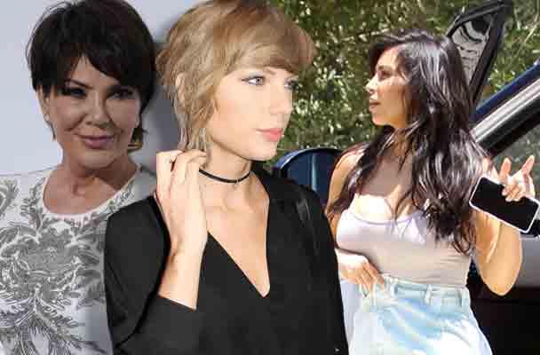 Kris Jenner Taylor Swift Diss Kim Kardashian Kanye West Feud 1