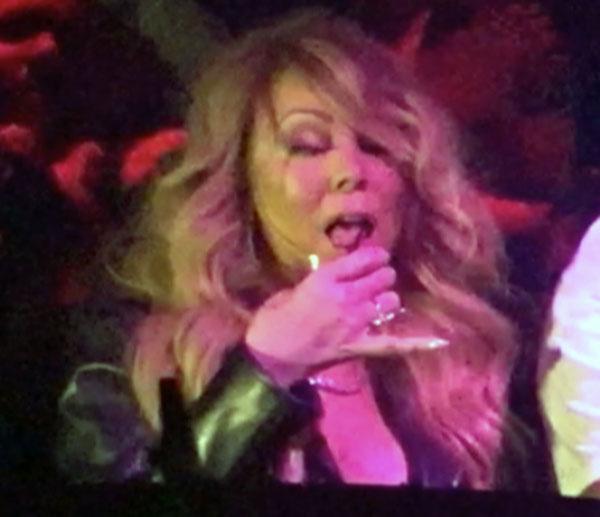 James Nightmare Mariah Carey S Wild Boozy Behavior Is