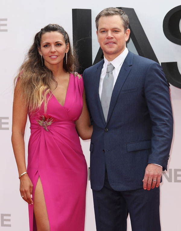'Grumpy' Matt Damon Driving Away His Wife With 'Dictating ...