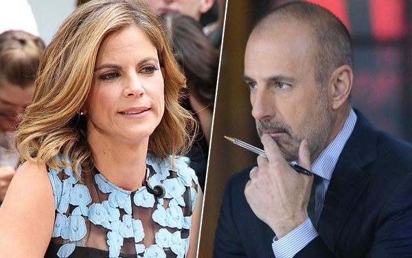 Matt Lauer Natalie Morales Affair Rumors Today Show Pics 4