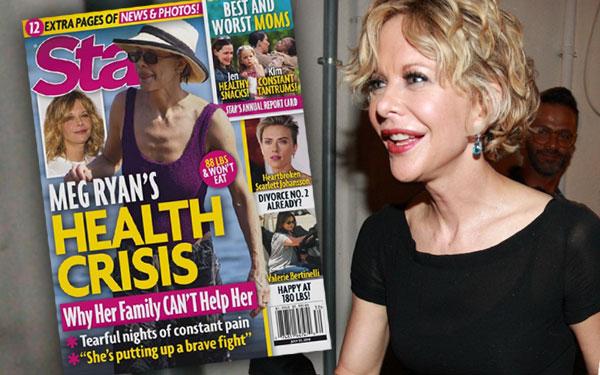 Meg Ryan Health Crisis Sick Skinny Plastic Surgery Pics 1