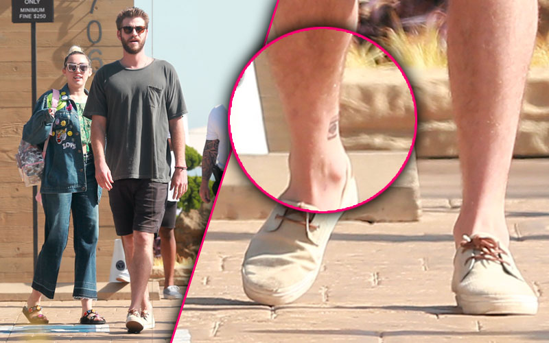 miley cyrus liam hemsworth matching vegemite tattoos