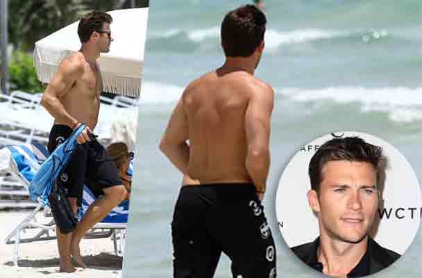 Scott Eastwood Shirtless Naked Beach Pics 1