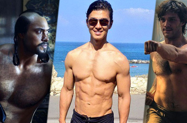 shirtless marco polo netflix stars