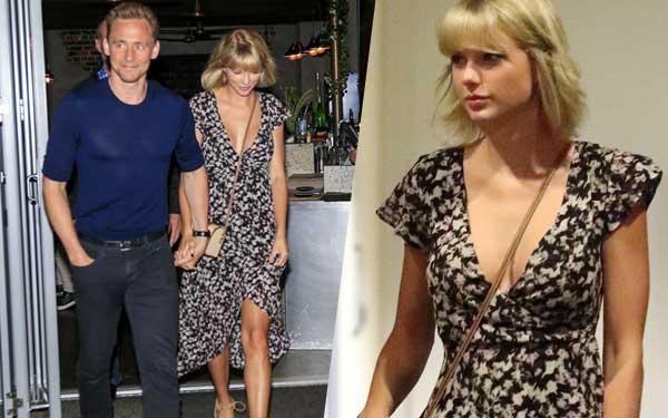 Taylor Swift Boobs Cleavage Tom Hiddleston Date Australia Pics 1