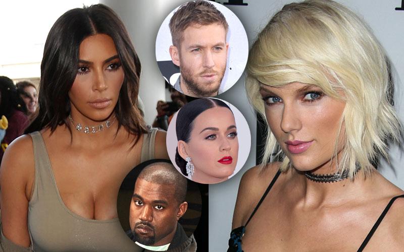 Taylor swift fighting calvin harris kim kardashian slams singer playing victim 01