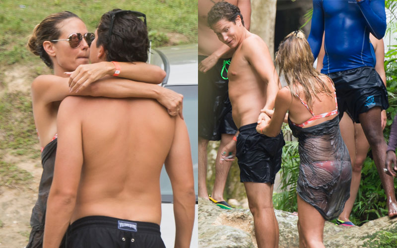 Heidi klum pda photos model makes out vito schnabel jamaica 06