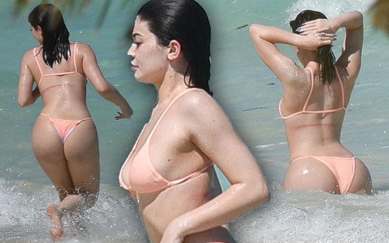 Kylie Jenner Bikini Naked Photoshoot Pics 4