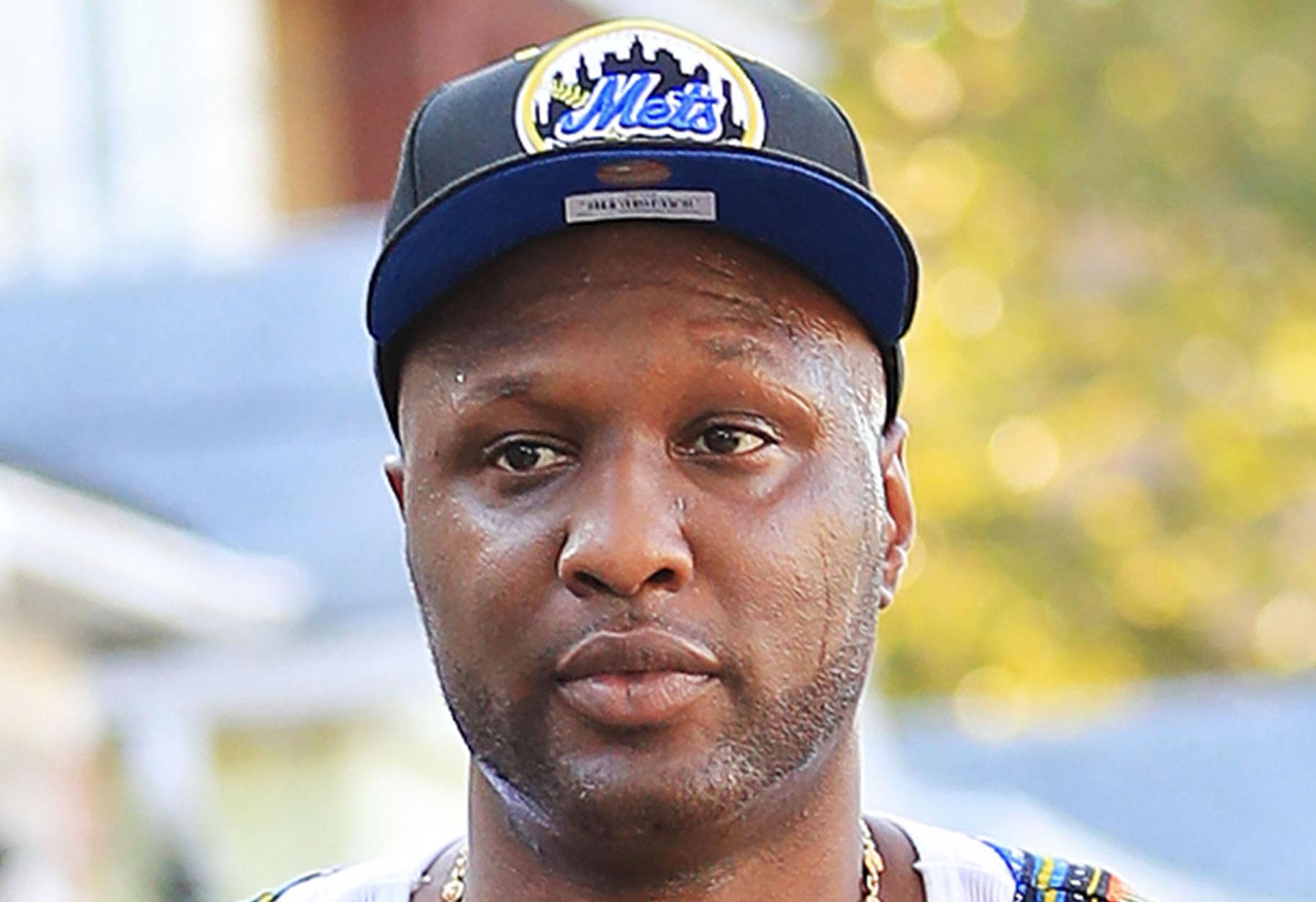 Lamar odom struggles post overdose workout video 01