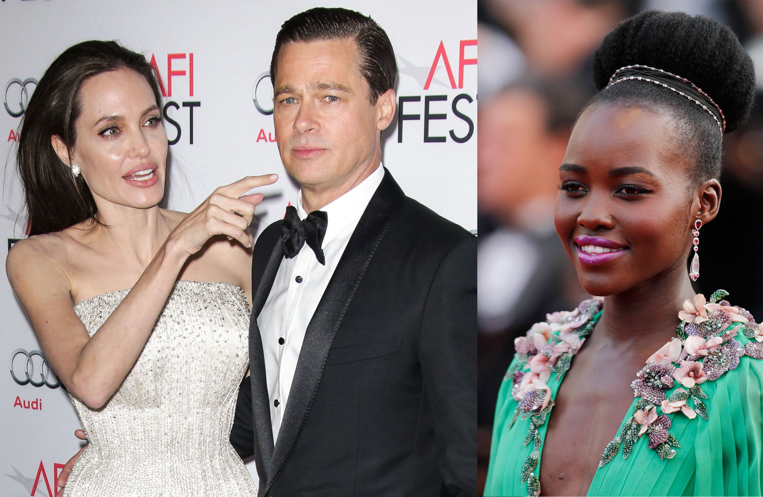 Lupita nyongo bikini photo brad pitt angelina jolie marriage problems 02