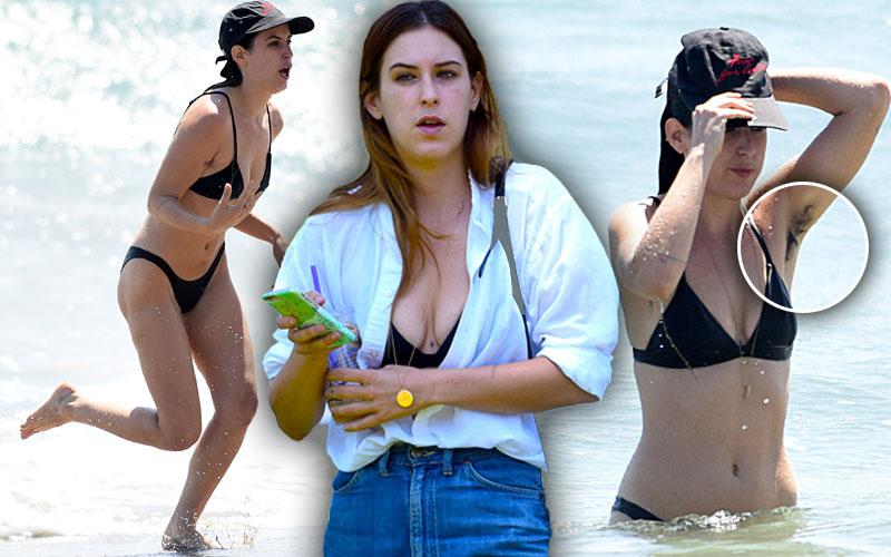 Scout Willis Armpit Hair Naked Bikini Pics 6
