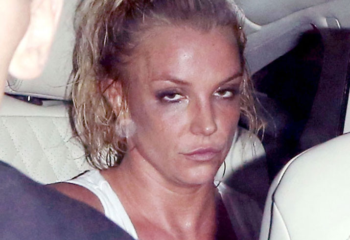 Britney Spears London Concert Drunk 06