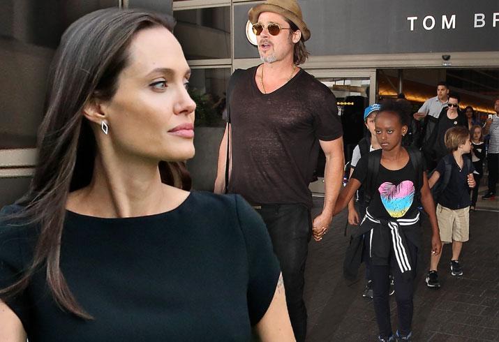 Angelina Jolie Brad Pitt Divorce Child Abuse Allegations Charges Kids 8
