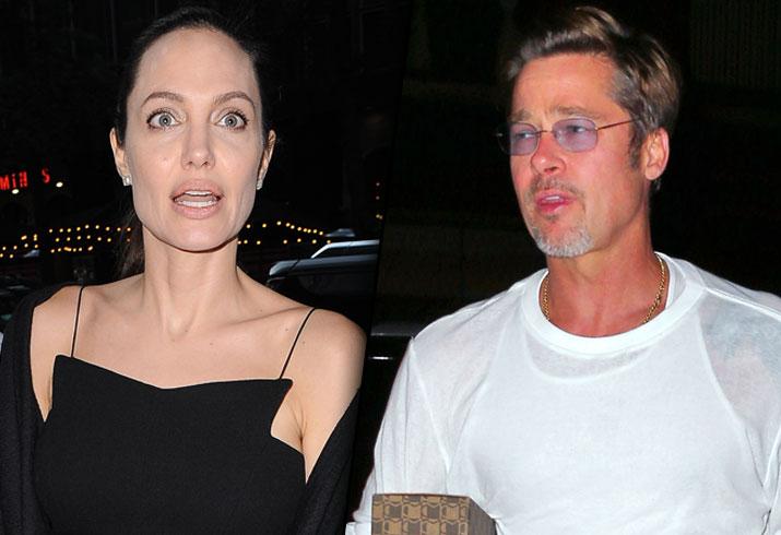 Angelina Jolie Brad Pitt Divorce Kids Children 3